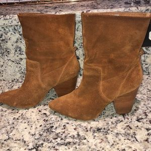 Urban Outfitters Suede Ankle Boots